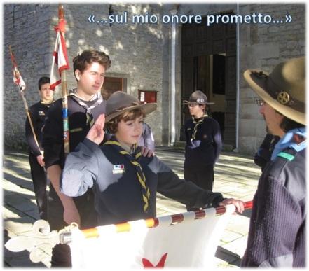Promesse del Riparto San Giorgio a Soviore - Genn 2014