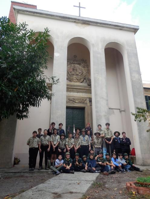 Gruppo FSE Genova 1 alla Sede del Righi (ottobre 2017)